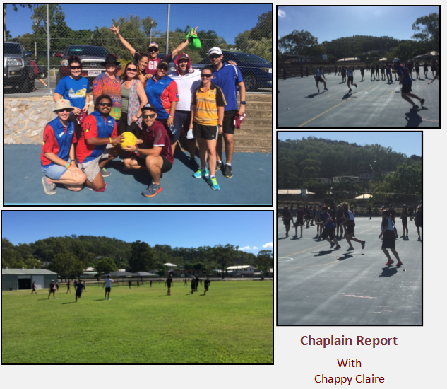 Chaplain Report With Chappy Claire