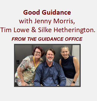 Good Guidance with Silke Hetherington & Jenny Morris - From The Guidance Office