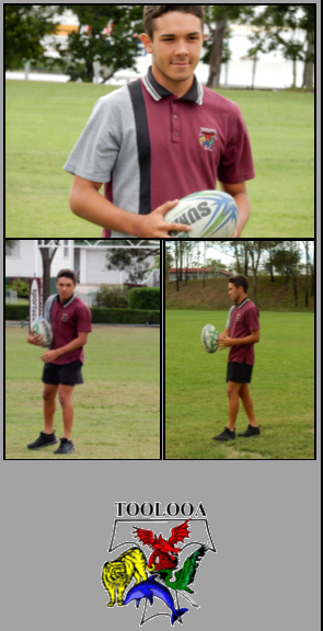 Lincoln Rebel Year 10 - Selected in Queensland School Boys Rugby League Team
