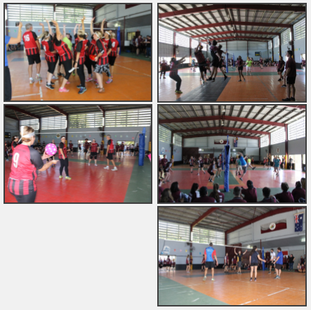 Teachers vs Students Volleyball Game